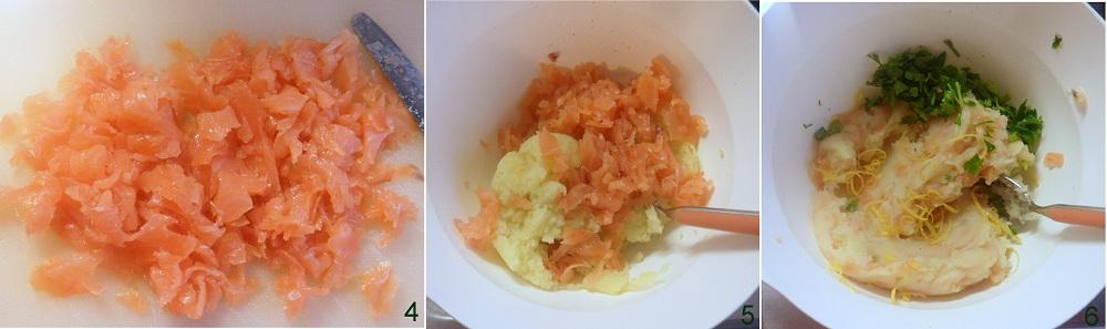 Crocchette di salmone e patate ricetta al forno il chicco di mais 2