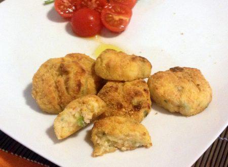Crocchette di salmone e patate (ricetta al forno)