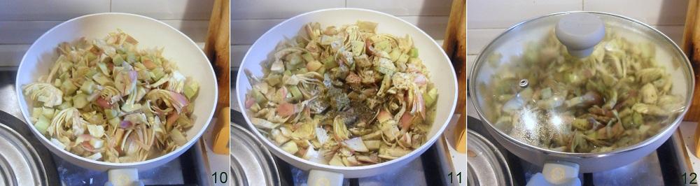 Lasagne ai carciofi e prosciutto cotto ricetta primo il chicco di mais 4