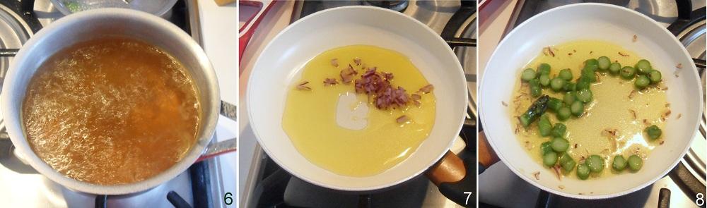 Pasta con asparagi e fiori di zucca ricetta primaverile il chicco di mais 3