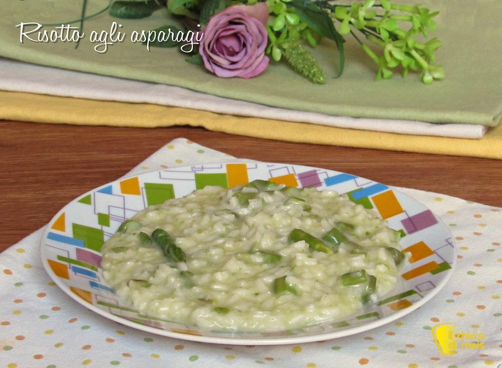Ricette con asparagi facili e veloci risotto agli asparagi cremoso il chicco di mais