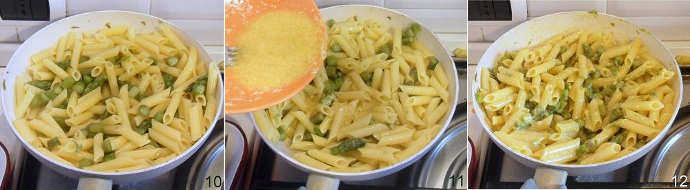 Carbonara di asparagi ricetta rivisitata il chicco di mais 4