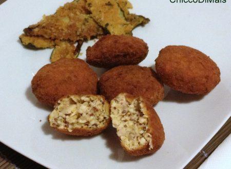 Crocchette di pollo alla senape (ricetta del riciclo)