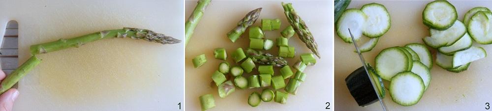 Pasta con robiola e verdure ricetta primaverile il chicco di mais 1