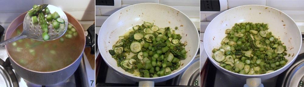 Pasta con robiola e verdure ricetta primaverile il chicco di mais 3