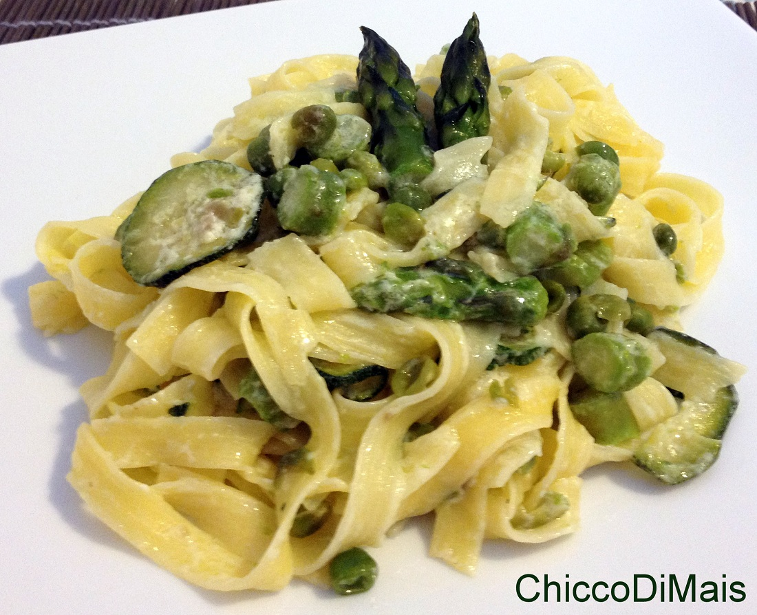 Ricette con asparagi facili e veloci for Ricette veloci pasta