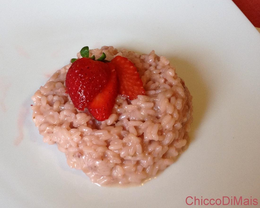 Menu di San Valentino 2014 ricette facili il chicco di mais risotto alle fragole
