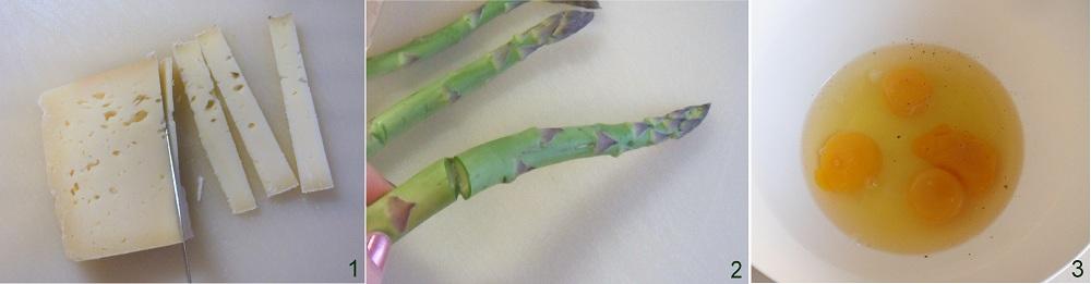 Rotolini di frittata con asparagi e formaggio ricetta vegetariana il chicco di mais 1