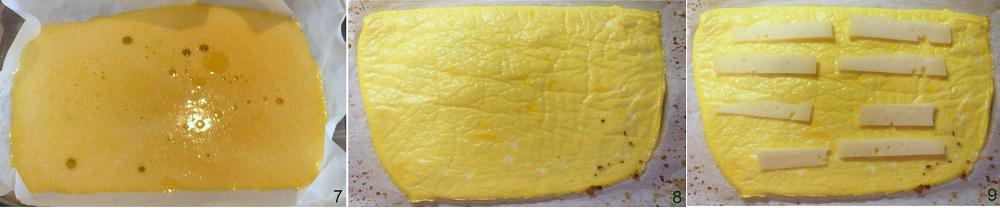 Rotolini di frittata con asparagi e formaggio ricetta vegetariana il chicco di mais 3