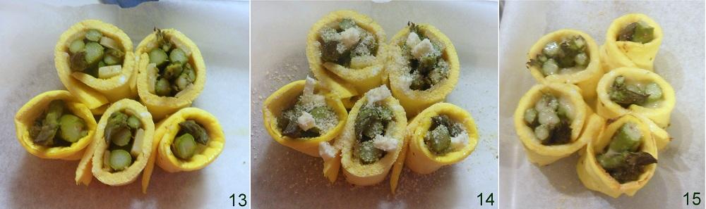 Rotolini di frittata con asparagi e formaggio ricetta vegetariana il chicco di mais 5