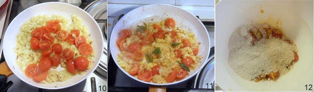 Zucchine ripiene con mozzarella ricetta vegetariana il chicco di mais 4