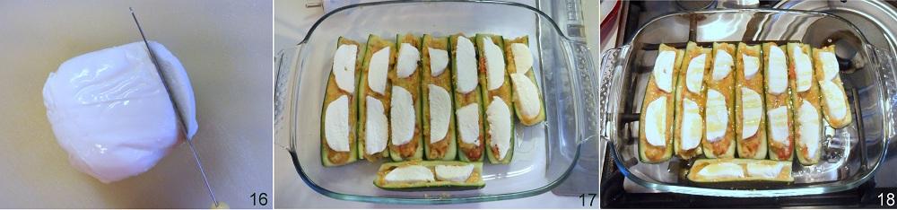 Zucchine ripiene con mozzarella ricetta vegetariana il chicco di mais 6