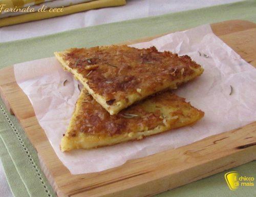 Farinata di ceci (ricetta ligure)