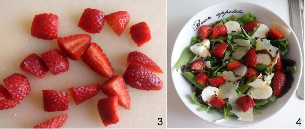Insalata di fragole e balsamico ricetta insolita il chicco di mais 2