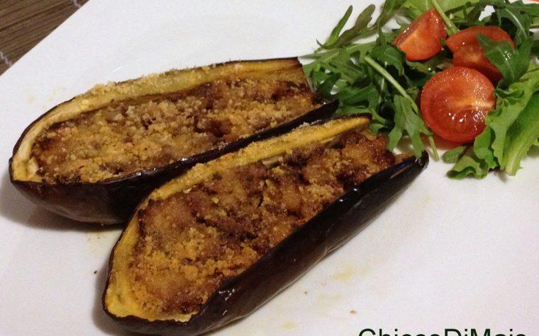 Melanzane ripiene di carne (ricetta secondo)