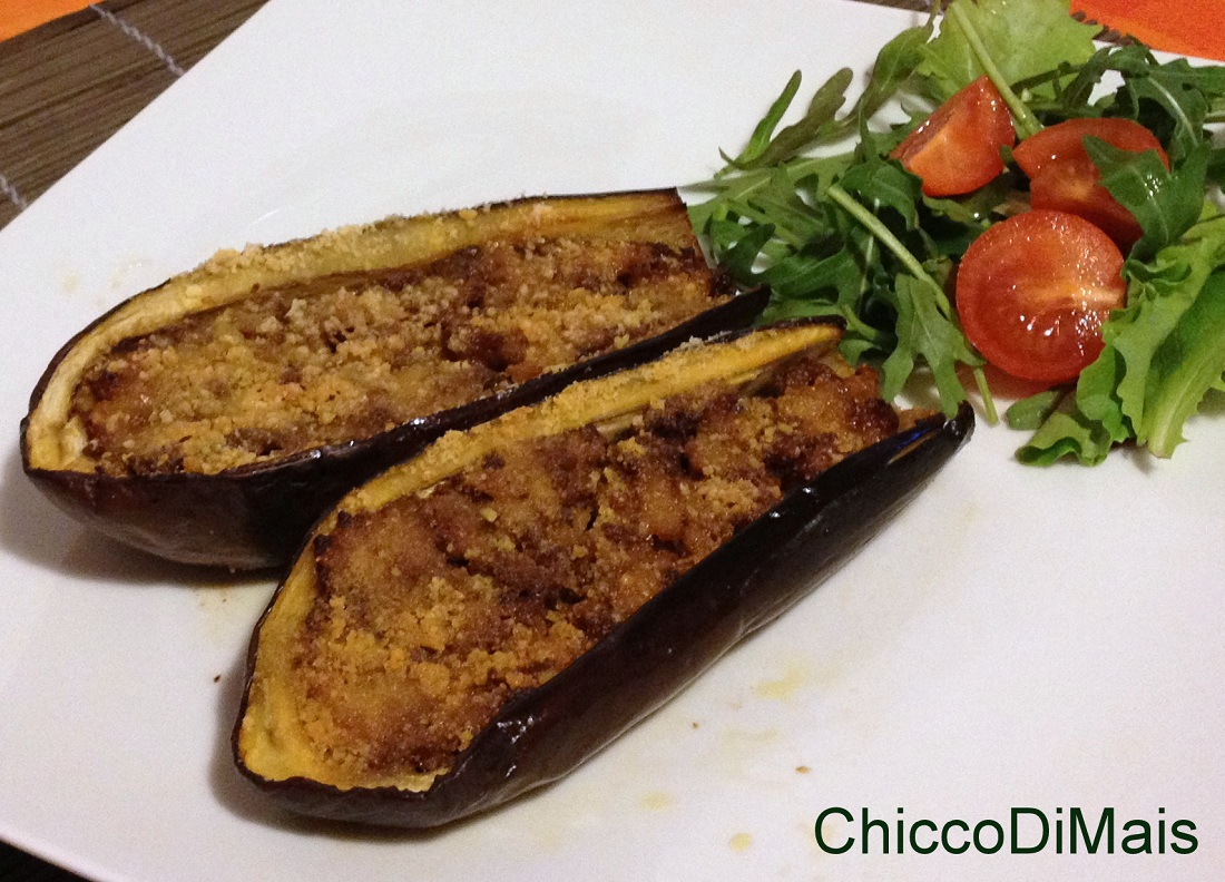Ricette con melanzane facili e veloci il chicco di mais melanzane ripiene di carne