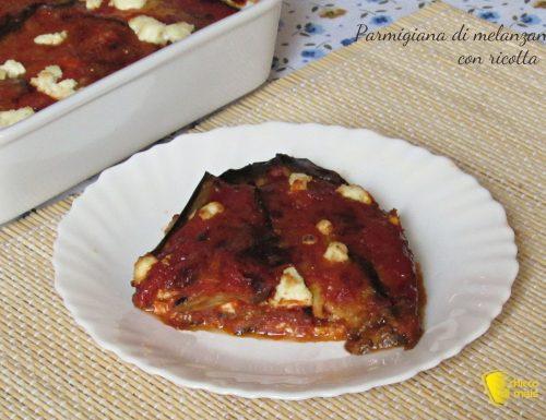 Parmigiana di melanzane con ricotta (ricetta rivisitata)