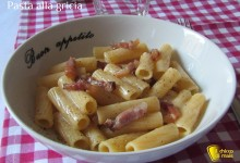 Pasta alla gricia (ricetta romana)
