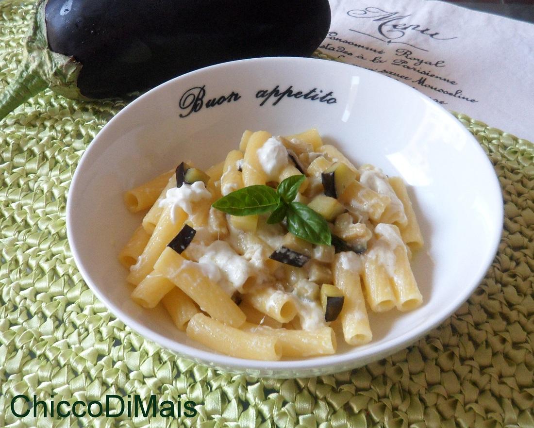 Ricette con melanzane facili e veloci il chicco di mais pasta con burrata