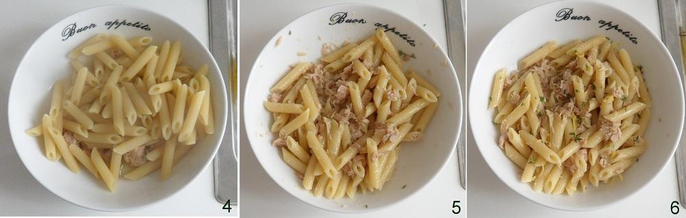 Pasta fredda con tonno e limone ricetta veloce il chicco di mais 2
