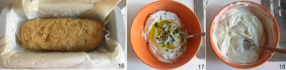 Polpettone di tonno con salsa allo yogurt ricetta al forno il chicco di mais 6