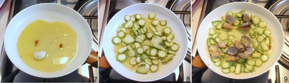 Riso venere con vongole e zucchine ricetta di pesce il chicco di mais 3