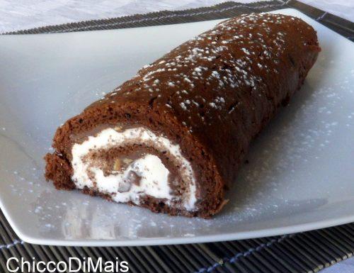 Rotolo dolce con Nutella e gelato (ricetta estiva)