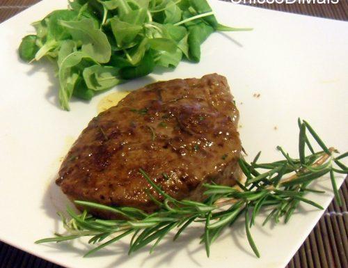 Filetto di manzo in salsa saporita (ricetta secondo)