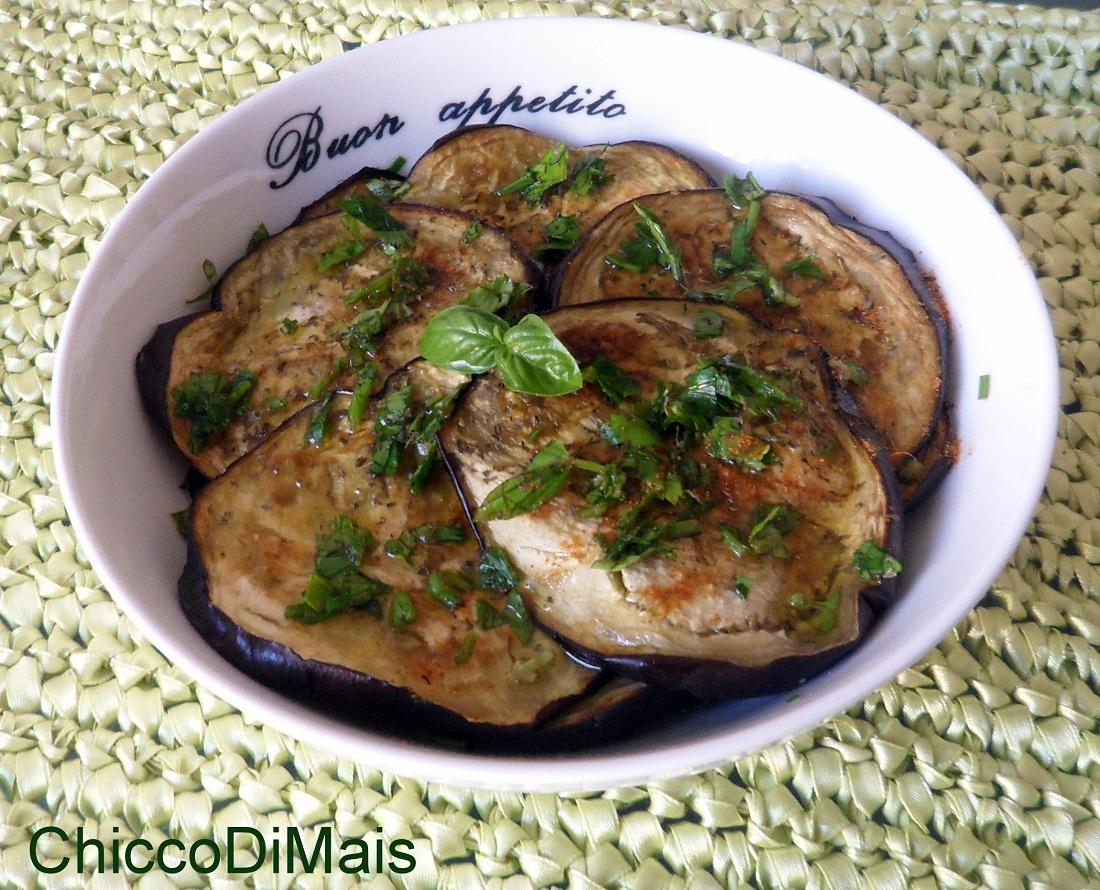 Menu di ferragosto 2014 ricette facili Melanzane piccanti il chicco di mais