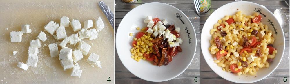 Pasta fredda con pomodori secchi feta e mais ricetta estiva il chicco di mais 2