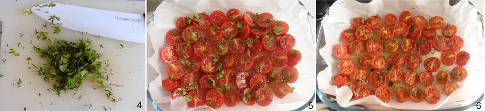 Pomodori confit ricetta base il chicco di mais 2