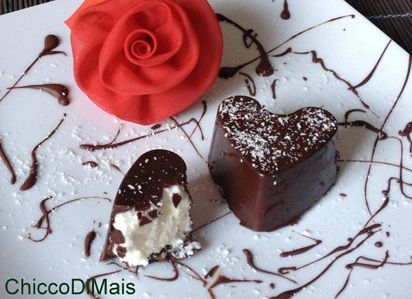Raccolta di ricette dolci senza forno il chicco di mais Cuori-di-cioccolato-e-cocco-ricetta-di-San-Valentino-il-chicco-di-mais