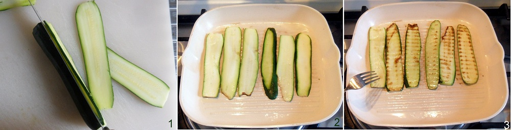 Rotolini di zucchine con mousse al cotto ricetta fingerfood il chicco di mais 1
