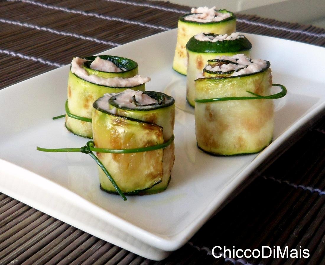 Ricette con zucchine facili e veloci il chicco di mais rotolini di zucchine