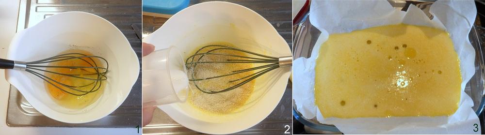 Rotolo di frittata con prosciutto robiola e rucola ricetta piatto freddo il chicco di mais 1
