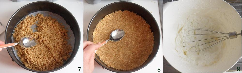 Torta fredda allo yogurt e ciliegie ricetta cheesecake il chicco di mais 3