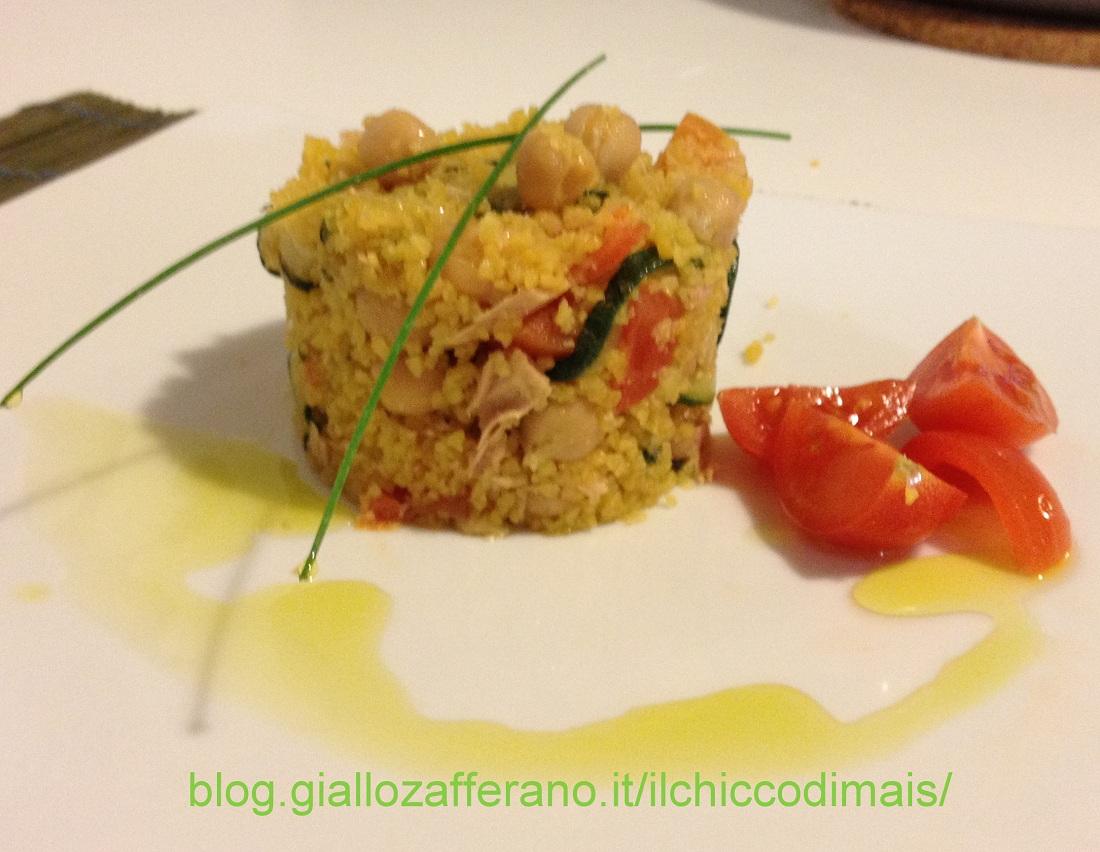 Ricette con zucchine facili e veloci il chicco di mais couscous tonno e zucchine