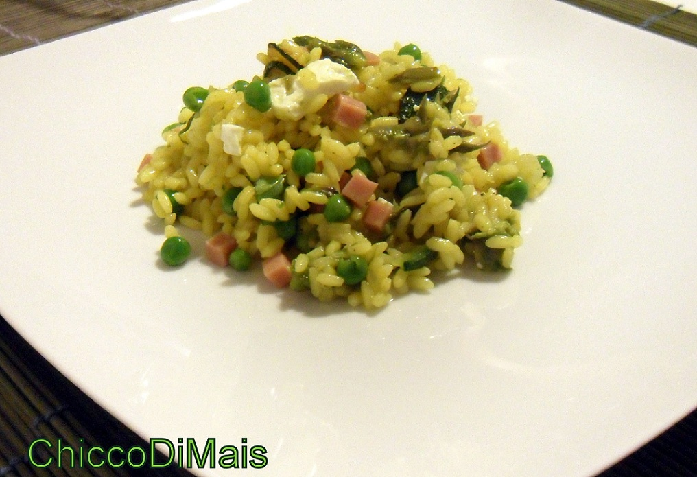 Ricette con zucchine facili e veloci il chicco di mais insalata di riso speziata