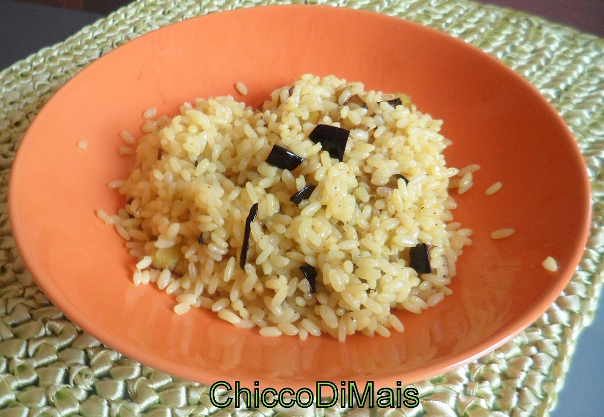 raccolta di ricette primi freddi riso-saltato-con-melanzane-e-curry il chicco di mais