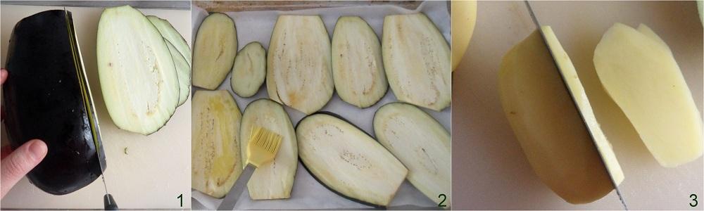 Parmigiana di melanzane e patate ricetta vegetariana il chicco di mais 1