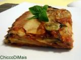 Parmigiana di melanzane e patate ricetta vegetariana il chicco di mais
