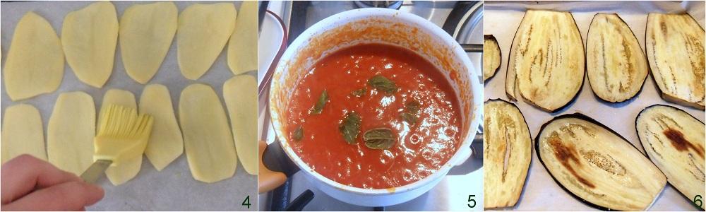 Parmigiana di melanzane e patate ricetta vegetariana il chicco di mais 2