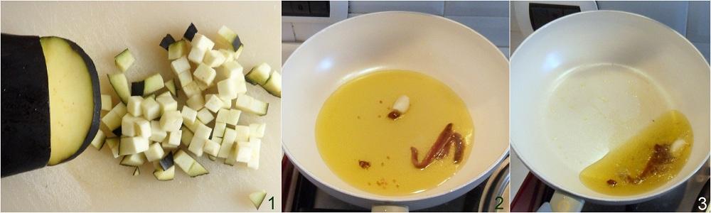 Pasta con tonno e melanzane ricetta in bianco il chicco di mais 1