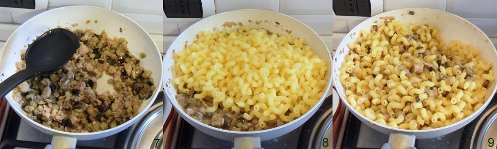 Ricetta della pasta in bianco