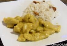 Straccetti di maiale al curry (ricetta veloce)