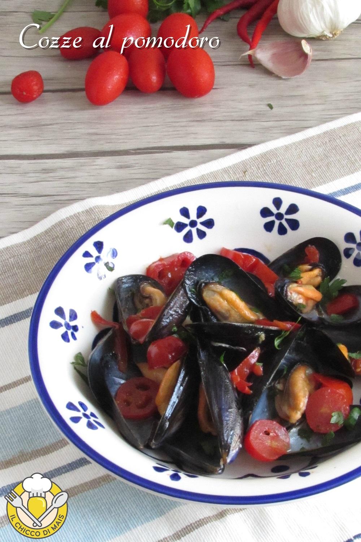 v_ cozze al pomodoro fresco ricetta semplice sautè di cozze con pomodorini e peperoncino il chicco di mais