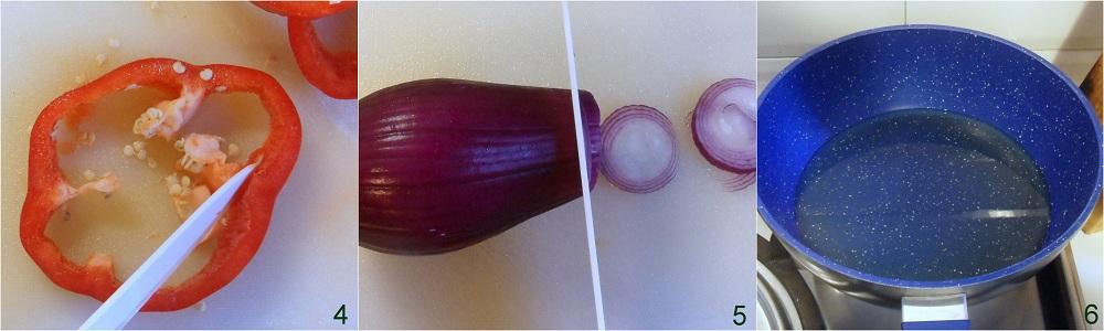Contorno di peperoni e patate ricetta calabrese il chicco di mais 2