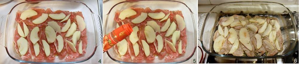 Fettine di maiale alla mela verde ricetta al forno il chicco di mais 2