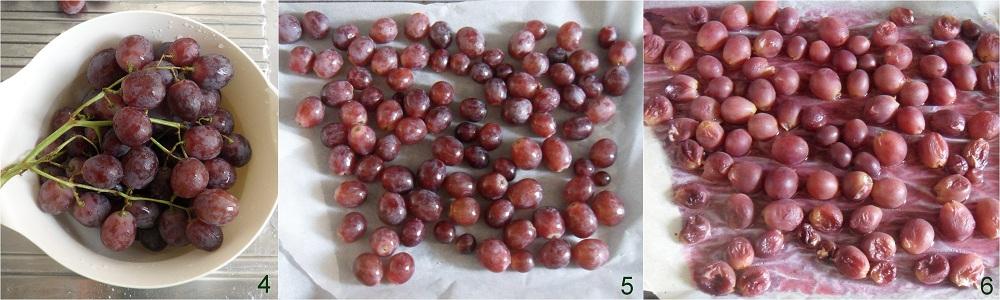 Focaccia all'uva ricetta dolce senza glutine il chicco di mais 2