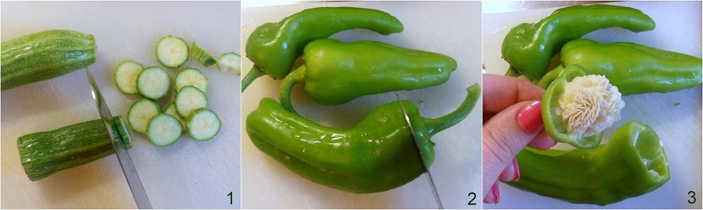 Frittata al forno con zucchine e friggitelli ricetta secondo il chicco di mais 1